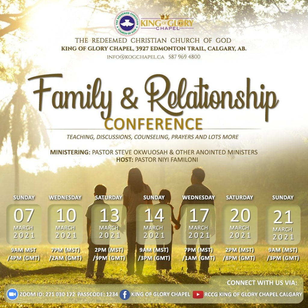 Family and Relationship Conf